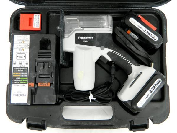 パナソニック 充電角穴カッター EZ4543LZ1S-B 電動工具 中古品
