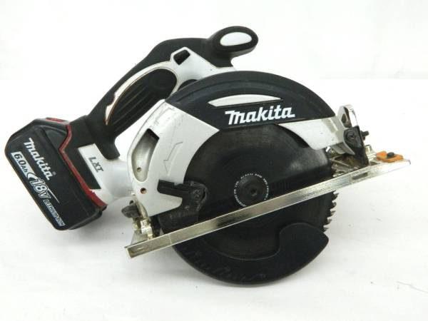 makita 充電式マルノコ 165mm HS630D 本体 バッテリー 中古品