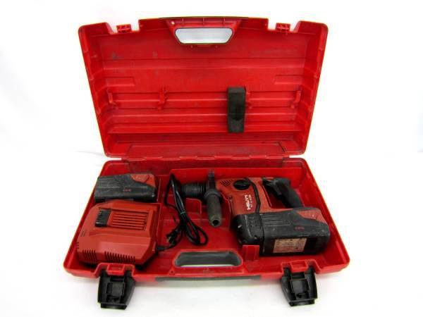 HILTI 充電式ロータリーハンマードリル TTE 6-A36-AVR 中古品
