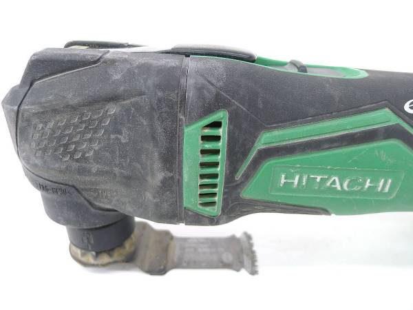 HITACHI 日立工機 コードレスマルチツール CV14DBL 14.4V 3.0Ah 中古品2