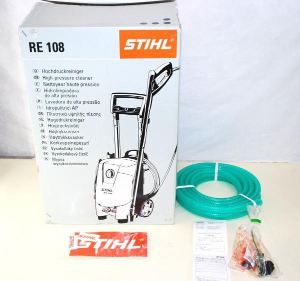STIHL スチール 高圧洗浄機 RE108 (50Hz) 未開封品a