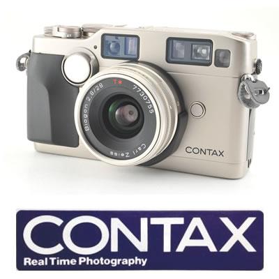 買取価格上昇中のCONTAX のAFレンジファインダーカメラG2