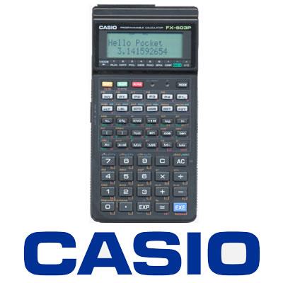 カシオ関数電卓FX-603P