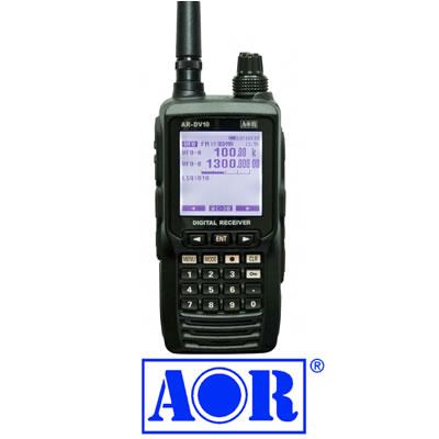 AOR ハンディ デジタル レシーバー AR-DV10 の特徴は?買取は出来る?