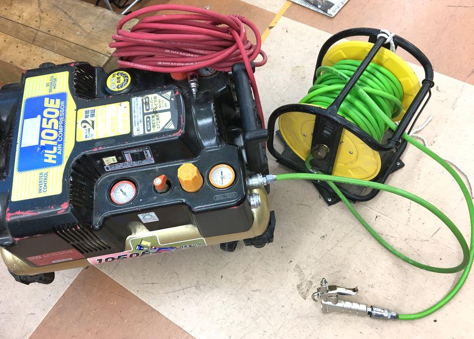 エアー工具使用時に絶対必要なコンプレッサーについて