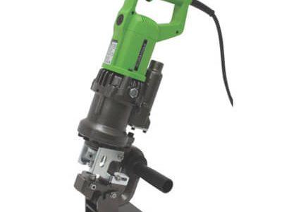 育良精器(IKURA) 製の鉄筋カッター・パンチャー・圧着系電動工具のミニパンチャーISK-MP920F