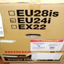 HONDA インバーター発電機 EU24i JNA3 ホイール仕様 未開封品