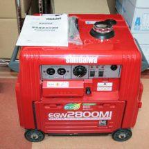 shindaiwa エンジン発電機兼用溶接機 EGW2800MI