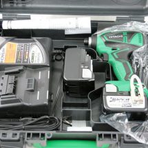 ◎日立工機 コードレスインパクトドライバ WH14DBEL 緑 未使用品