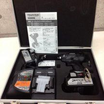 ◎インパクトドライバ HITACHI WH18DBAL2 特別限定品 新古品 B