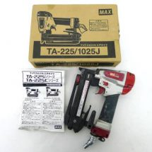 マックス 常圧ステープル用エアネイラ 釘打機 TA-225 1025J 中古