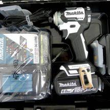 makita マキタ 充電式インパクトドライバ TD170DRGXW 6.0Ah 18V 白 未使用品