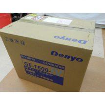 Denyo デンヨー ガソリンエンジン 防音型 インバータ発電機 GE-1600-IV