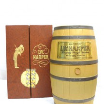 I.W.ハーパー 樽型ボトル