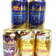 アサヒビール350ml缶 各種バラ 買取