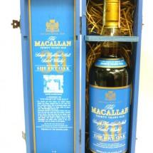 マッカラン30年 シェリーオーク ブルーラベル 木箱付