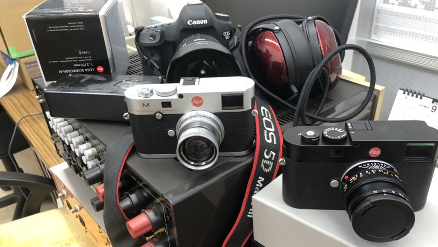 ライカのカメラ、オーディオ系多数