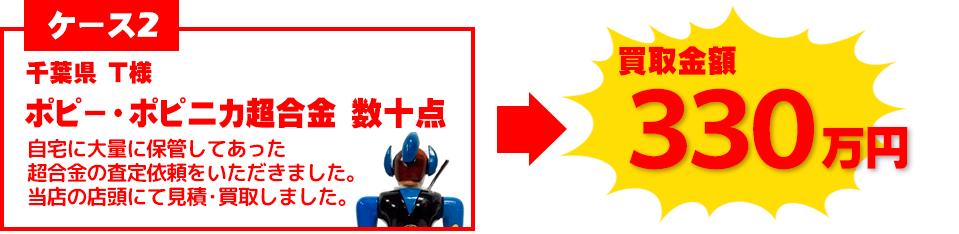 ポピー・ポピニカ超合金買取事例
