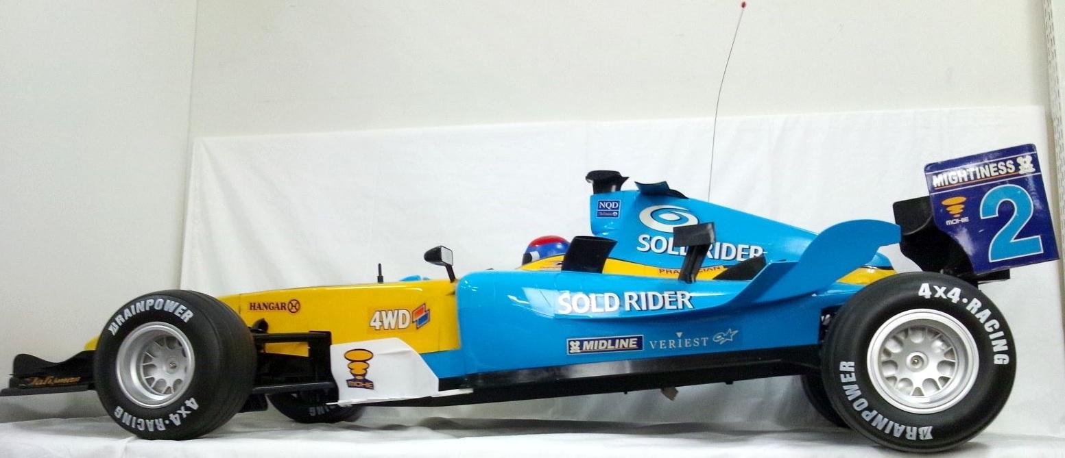 NEWQIDA 1/3スケール レーシングカーモデル大型ラジコン RC