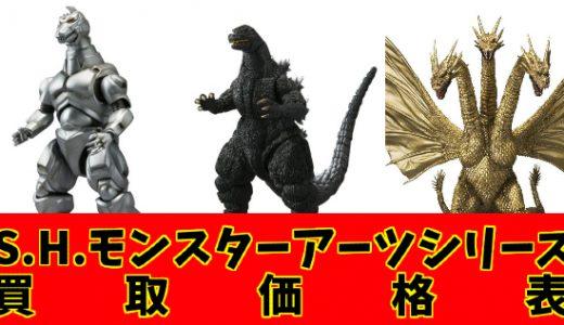【2021/2/3価格表更新】バンダイ S.H.MonsterArts(S.H.モンスターアーツ)シリーズの大量買取お待ちしております!